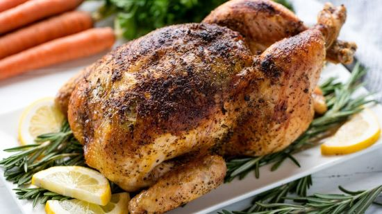 Recipe for Oven Roasted Chicken