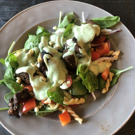 Sirloin Steak Summer Salad