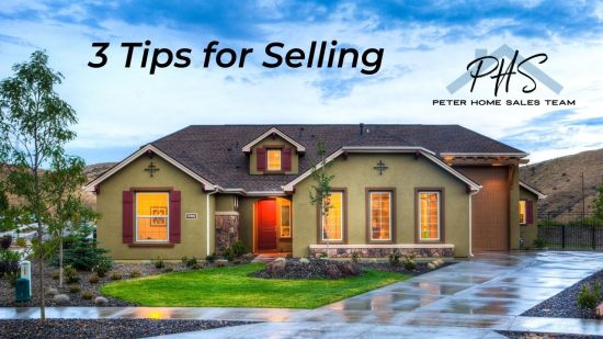 3 Tips for Selling