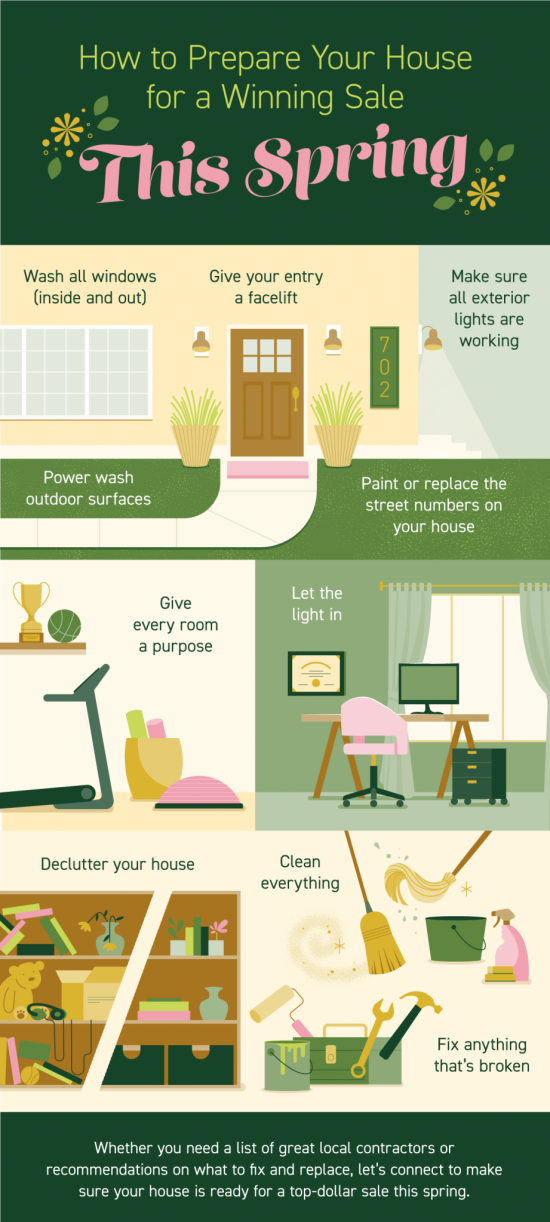 How to Prepare Your House for a Winning Sale This Spring
