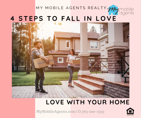 4 steps to fall in love with your home