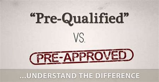 Prequalified vs. Preapproved: What's the Difference?