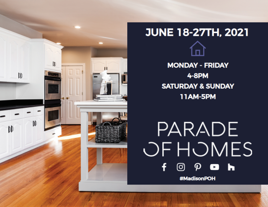 Madison Parade of Homes – 2021 Overview