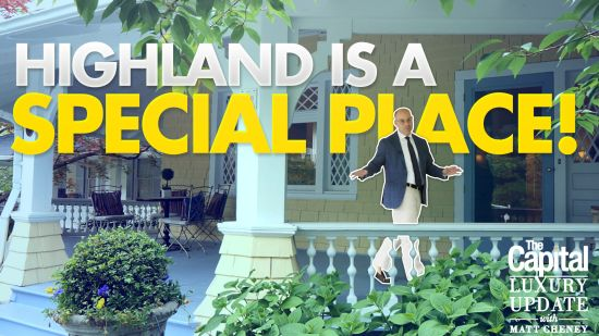 Cleveland Park's Highland Place is one of Washington's Special Streets tour with Matt Cheney.