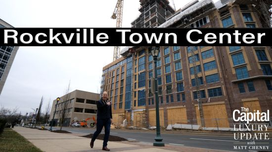 Rockville Town Center hard hat construction and development tour with John Segreti of Duball