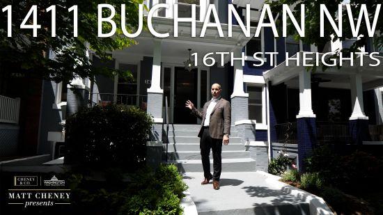Matt Cheney Presents: 1411 Buchanan Street NW, Washington, DC 20011