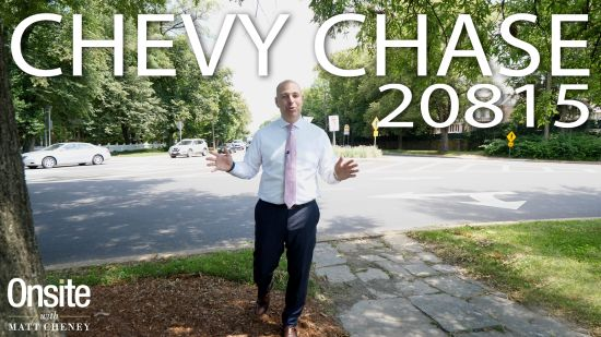 Onsite with Matt Cheney EP31: Chevy Chase, Maryland 20815