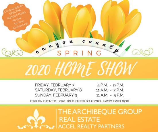 Canyon County Spring Home Show 2020 | Feb 7-9 | Nampa, Idaho