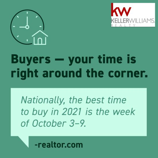 Buyers Your Time is Near!