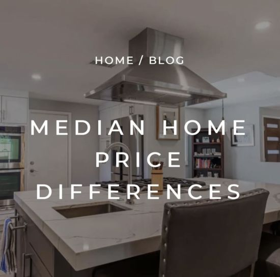 Median Home Price Differences