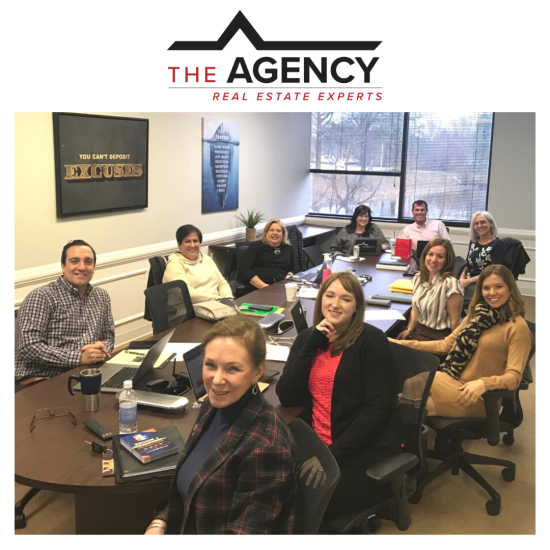 Weekly Meeting at The Agency