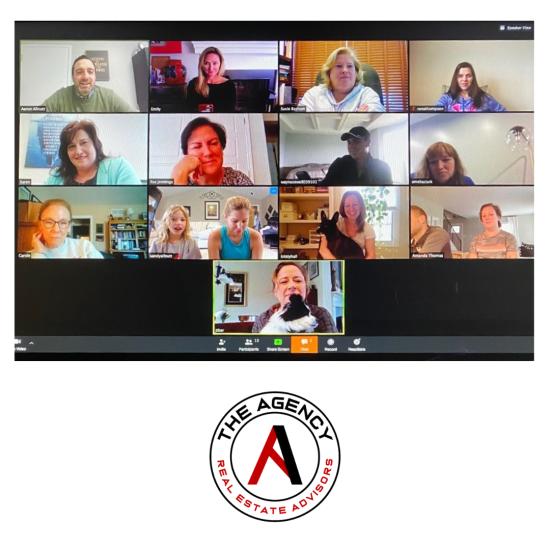 Virtual Meeting at The Agency
