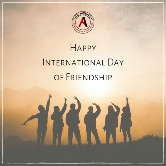 Happy International Day of Friendship!