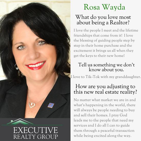Agent Spotlight- Rosa Wayda