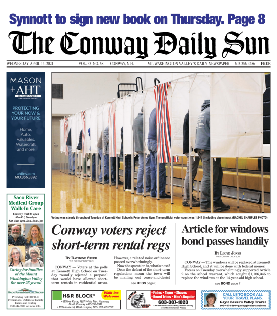 Conway Residents Vote NO on Short-term Rental Regulation