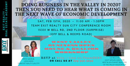 West Valley Business Owner Open House & Realtor Event