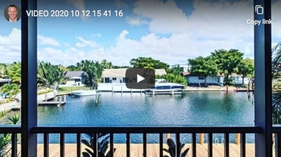 My lastest Fort Lauderdale Water Front Listing