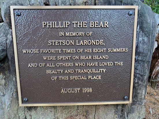 Phillip the Bear on Bear Island