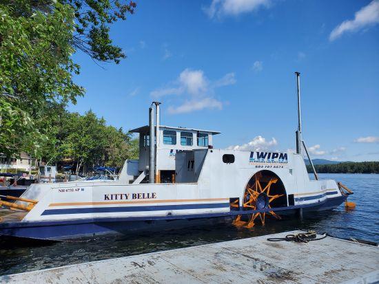 Kitty Belle – Only True Side-Wheeler Operating on Lake Winnipesaukee