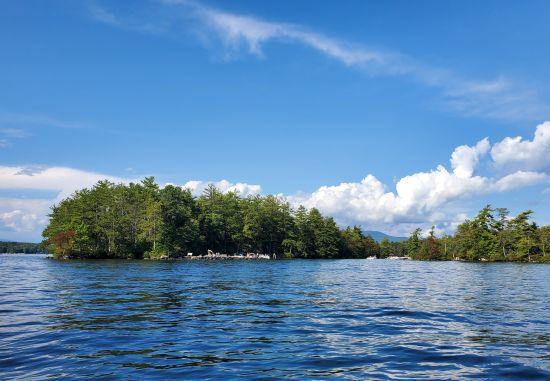 Boating around and Hiking on Ragged Island