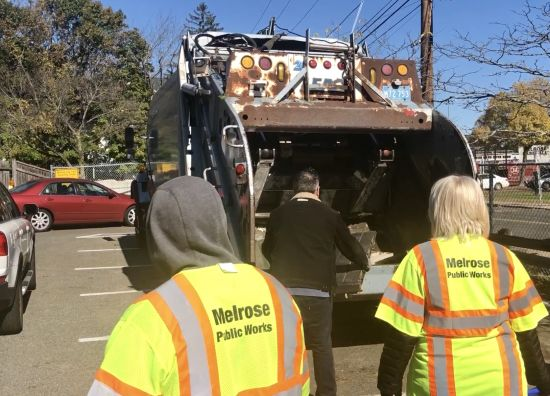 Share your opinion of the Melrose DPW on February 6
