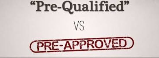 Home Buying: Pre Approved vs. Pre Qualified