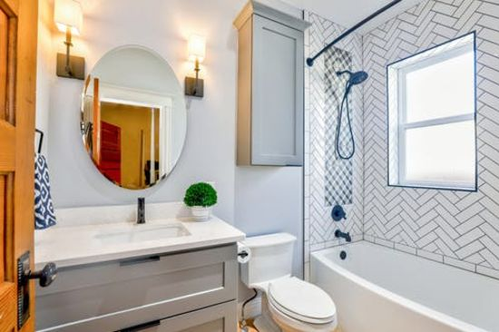 8 Bathroom Projects anyone can do on their own!