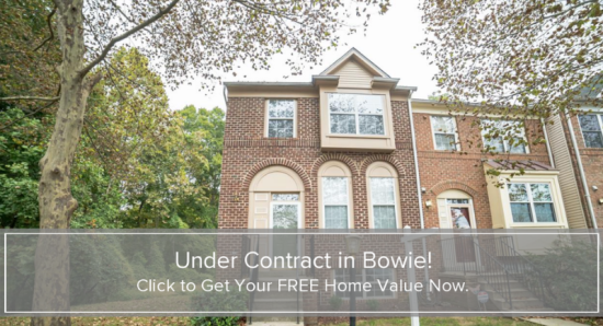 Under Contract in Bowie