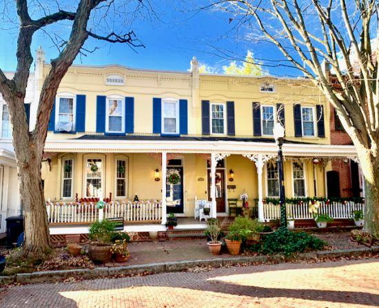 Historic Wilmington Delaware  –  Trinity Vicinity