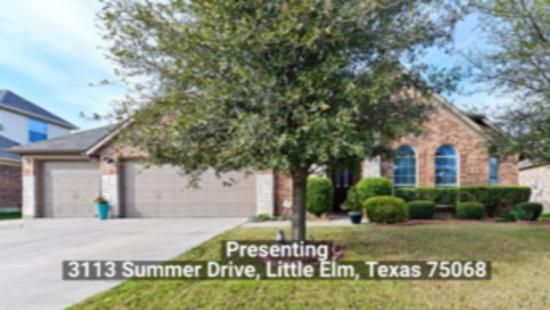3113 Summer Drive, Little Elm, Texas 75068