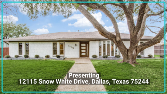 12115 Snow White Drive, Dallas, Texas 75244