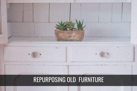 7 Cool Ways to Repurpose Old Furniture