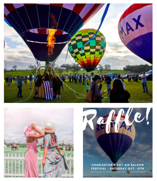Charleston Hot Air Balloon Festival | Event Info & GIVEAWAY!