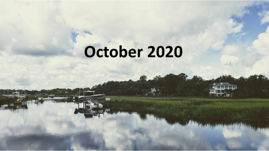 October 2020 Charleston Newsletter and Real Estate Update