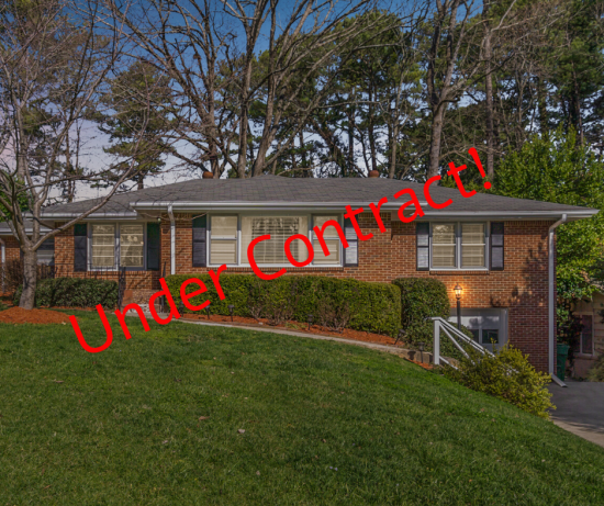 Another Team ROLO Home Under Contract Right Away!