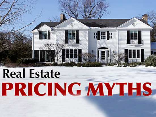 Home Sale Pricing Myths