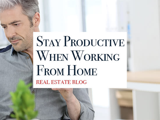 5 Ways to Stay Productive When Working From Home