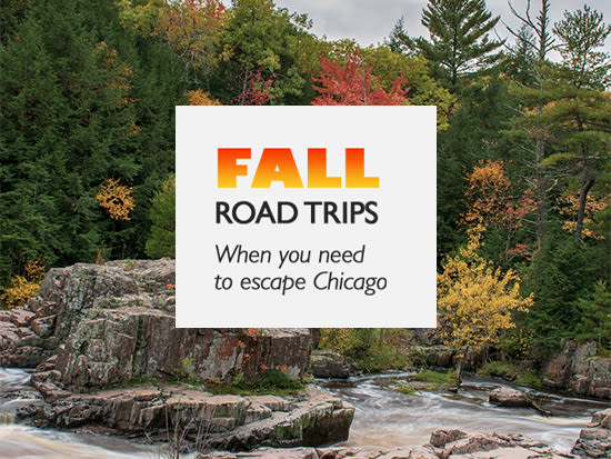 Chicago Area Fall Road Trips