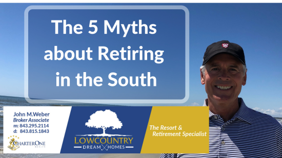 The Five Myths on Retiring in the South