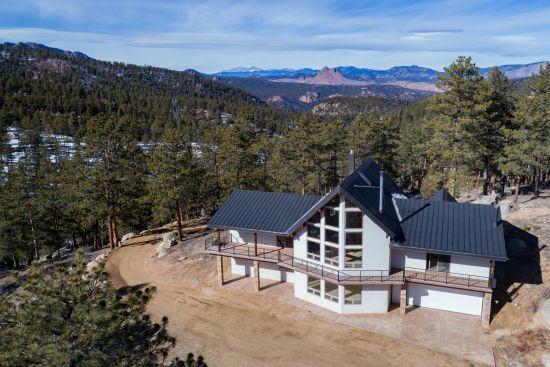 Sedalia Colorado Mountain Home for sale on 40 acres
