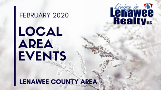 Lenawee County February 2020 Events