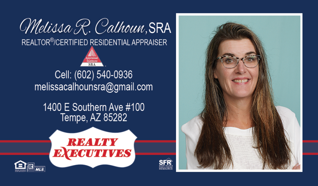 REALTY EXECUTIVES Melissa Calhoun 877AZSELLSHOMES
