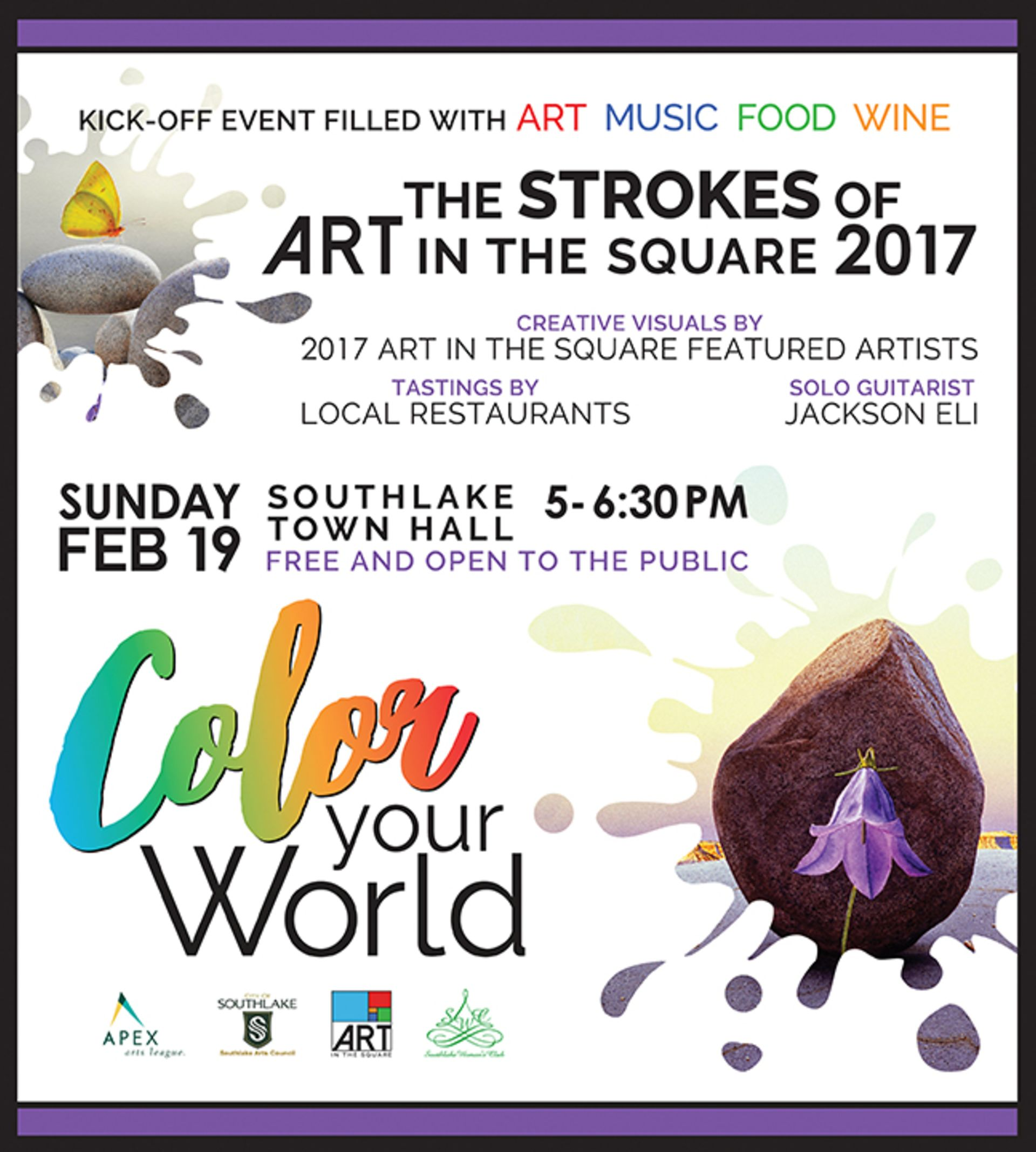 Strokes of Art in the Square 2017