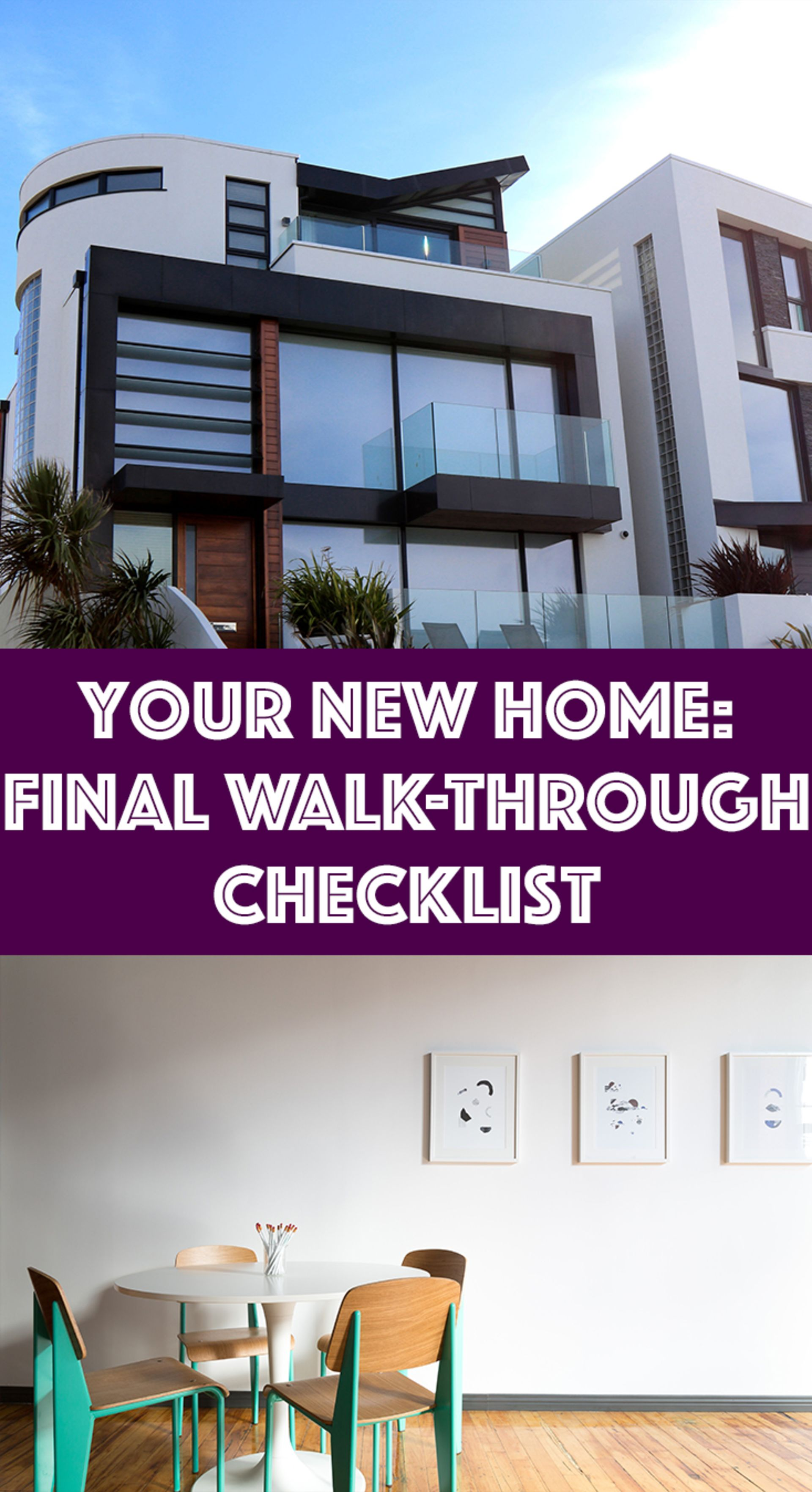 Your New Home: Final Walk-Through Checklist