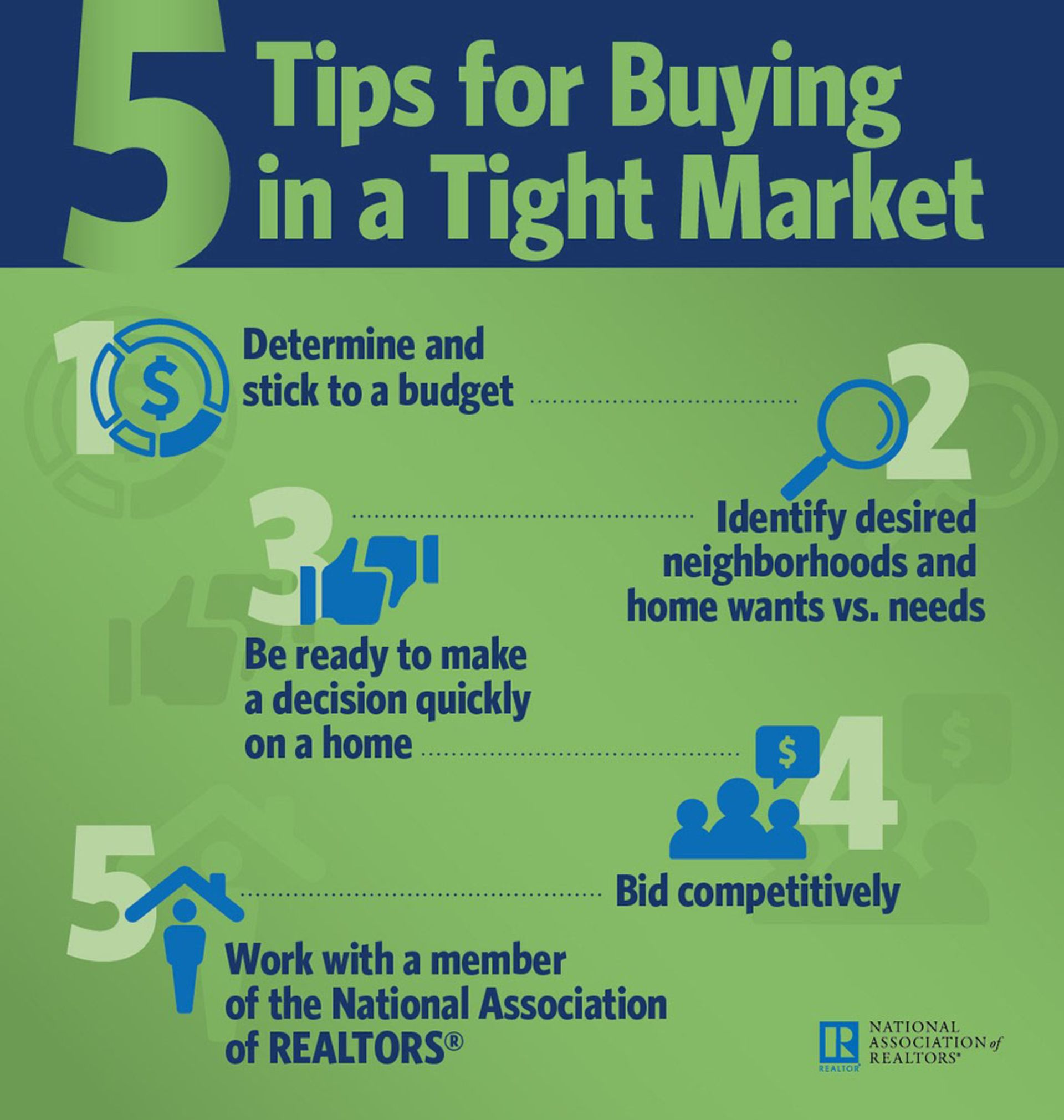 5 Tips for Buyers in a Tight Market