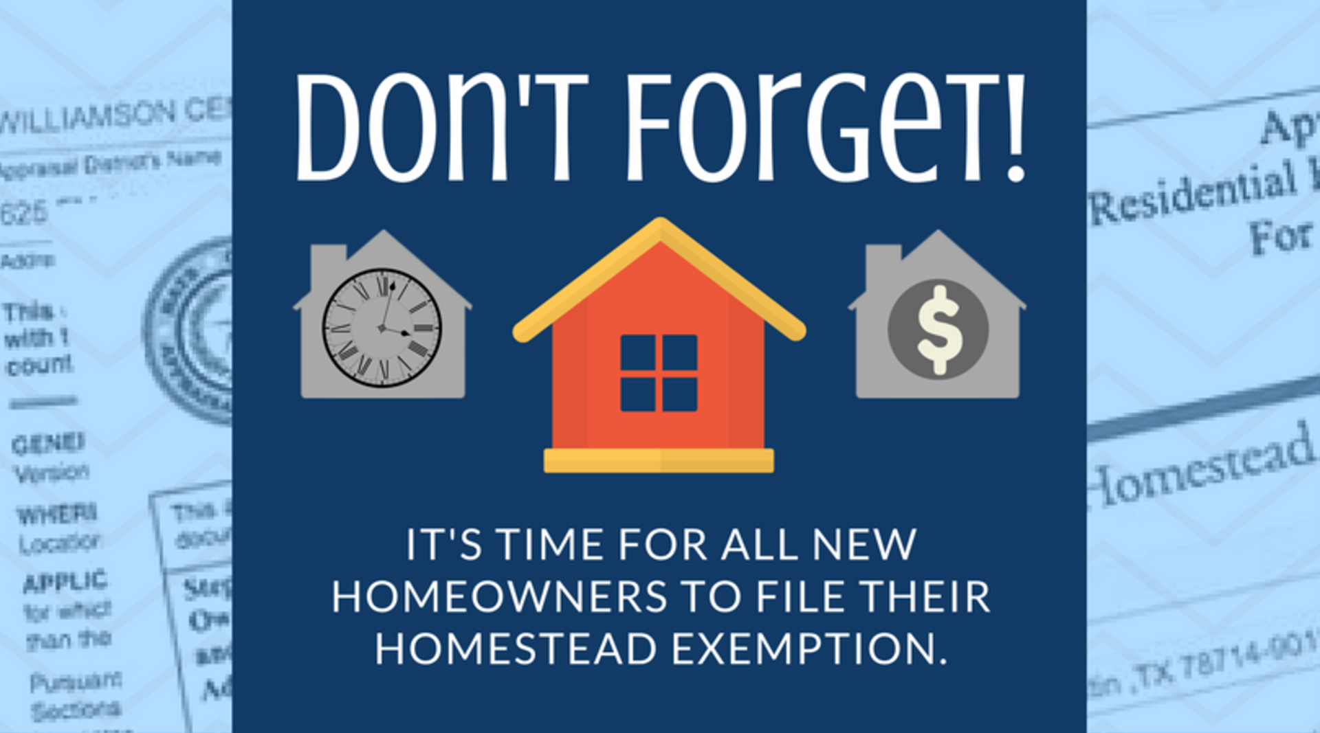 How To File Your Homestead Exemption in DFW