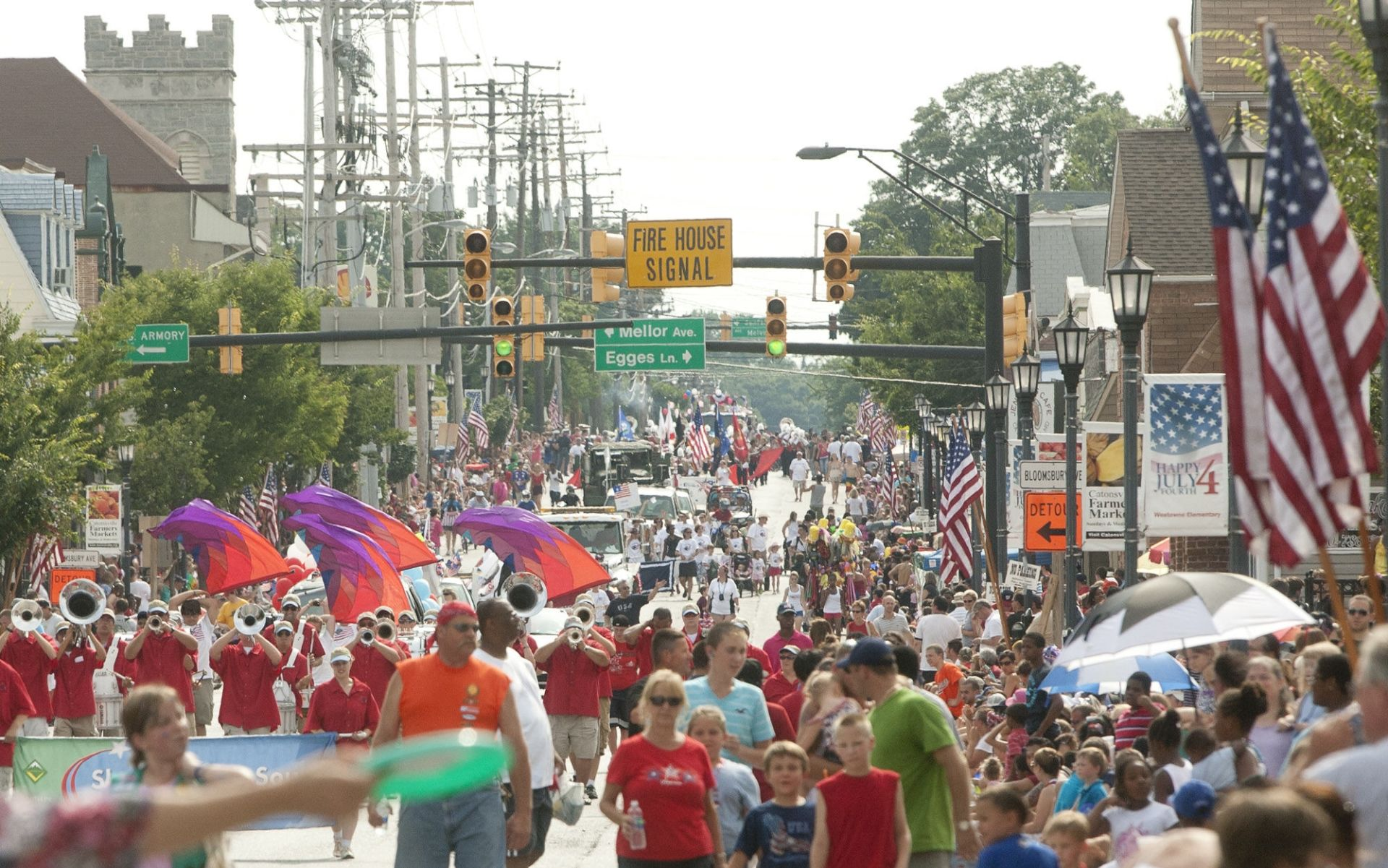 Local Top 10: Preparing for the 4th of July in Catonsville!