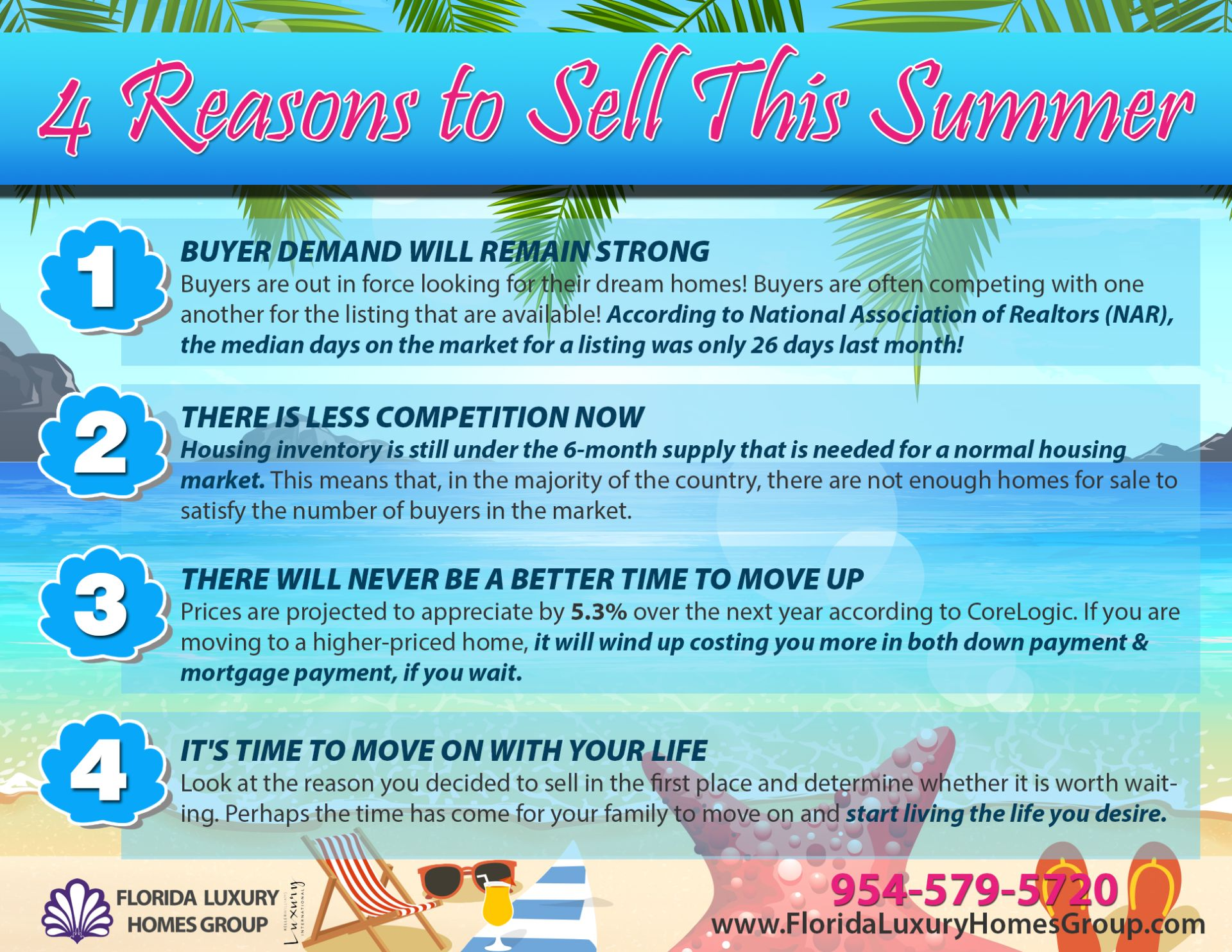 4 Big Reasons To Sell This Summer