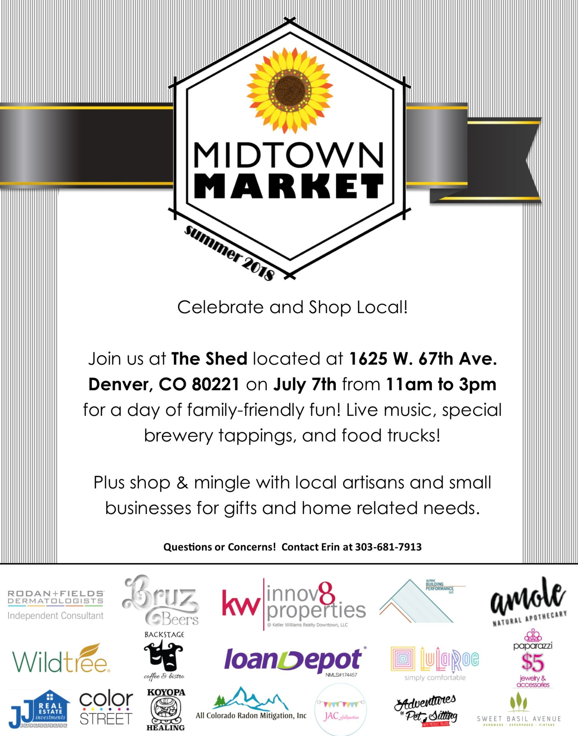 Midtown Market – Join The Fun This Weekend