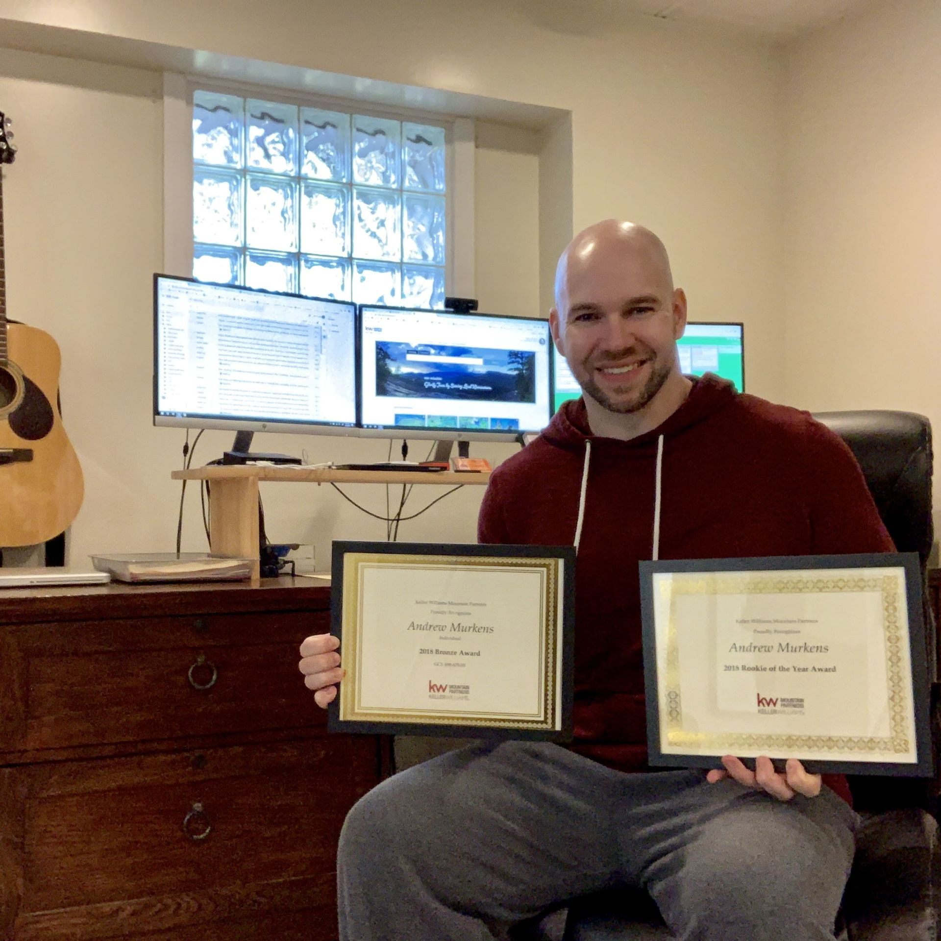 Andrew Murkens Receives Accolades from Keller Williams Mountain Partners